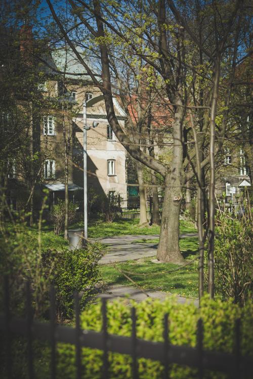 teren zamknięty, park słowackiego bielsko-biała