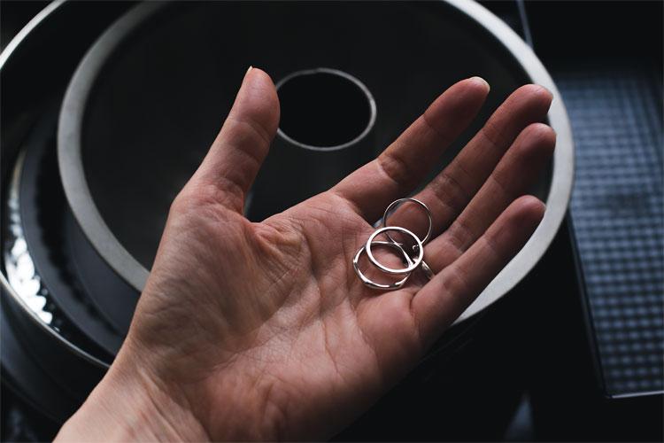 Coś dla siebie, minimalistyczne pierścionki